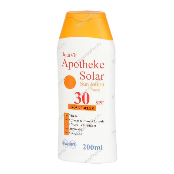 4ba4520c15 JutaVit Apotheke Solar naptej SPF 30